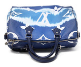 Louis Vuitton Escale Speedy Bandouliere 30 Blue and white 6