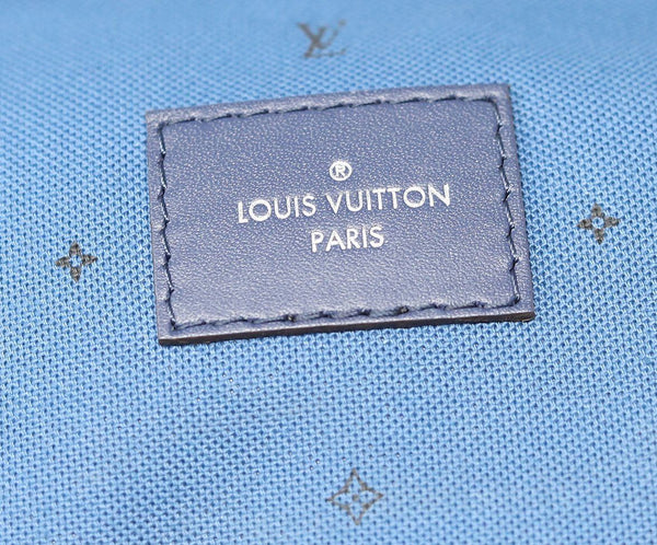Louis Vuitton Escale Speedy Bandouliere 30 Blue and white 9