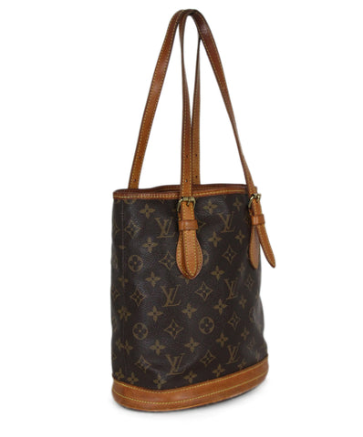 Louis Vuitton Brown Monogram Bag with Pouch 1