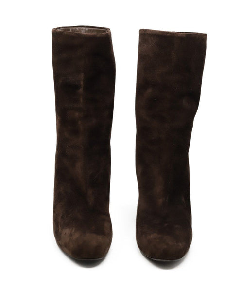 Louis Vuitton Brown Suede Boots 2