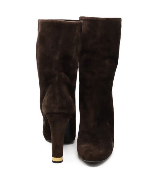 Louis Vuitton Brown Suede Boots 3