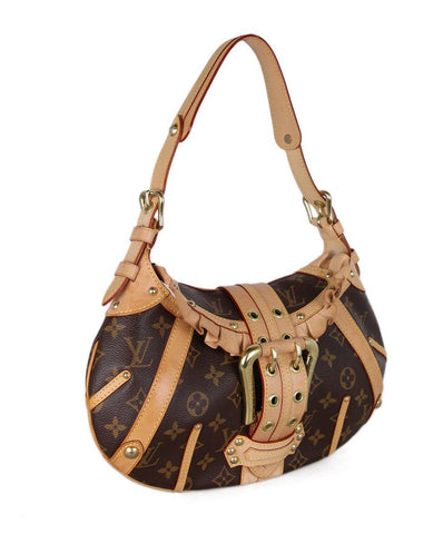 Louis Vuitton Brown Tan Monogram Lenor bag 1
