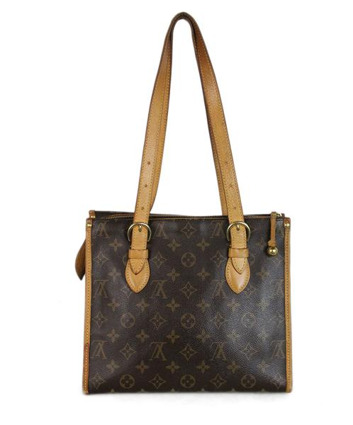 Louis Vuitton Monogram Popincourt Haut Brown Monogram Leather Tote