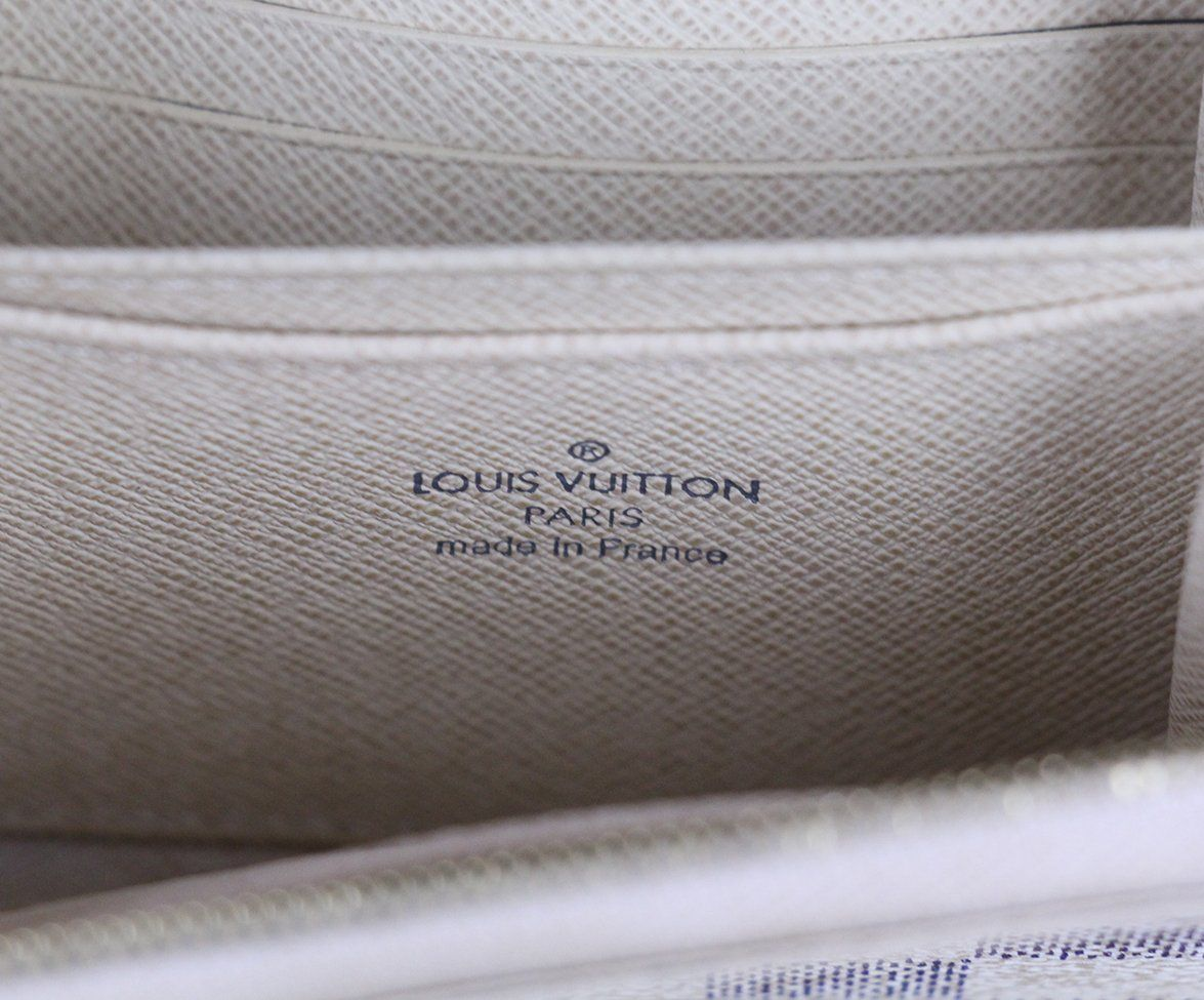 Louis Vuitton Cream Wallet with Dust bag 6