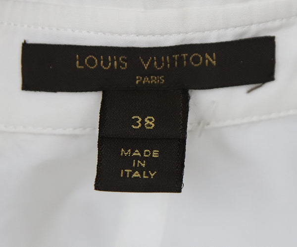 Louis Vuitton Ivory Cotton Top 4