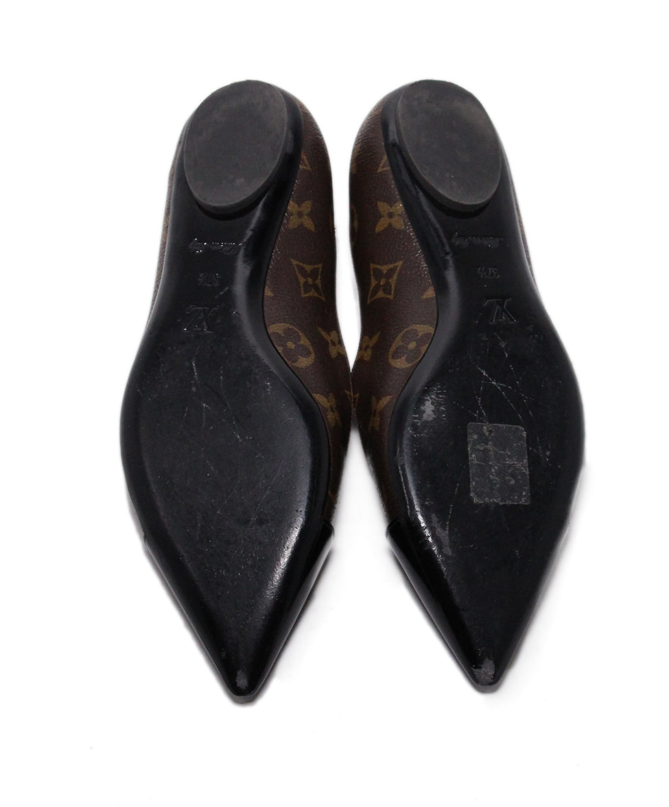 Louis Vuitton Monogram canvas Flats 5