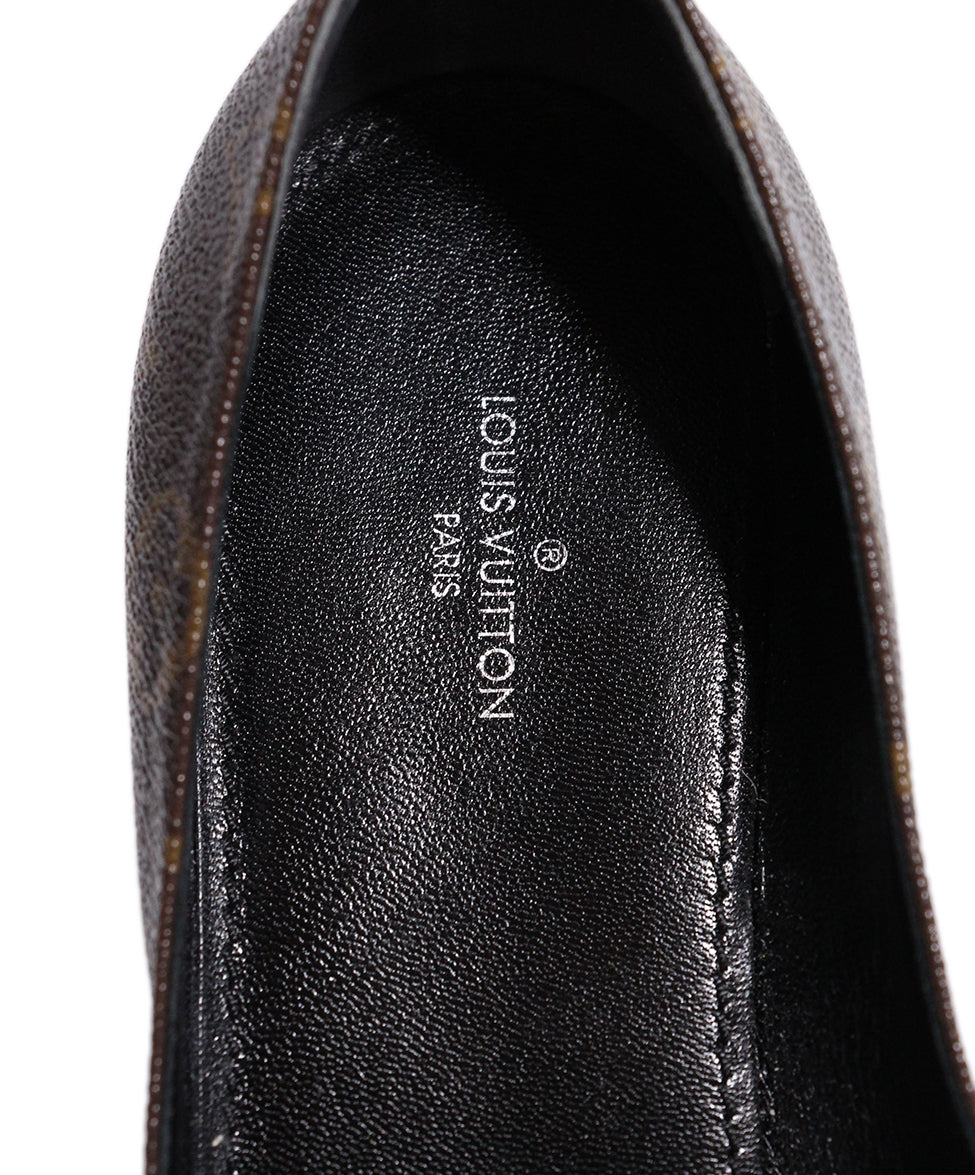 Louis Vuitton Monogram canvas Flats 7