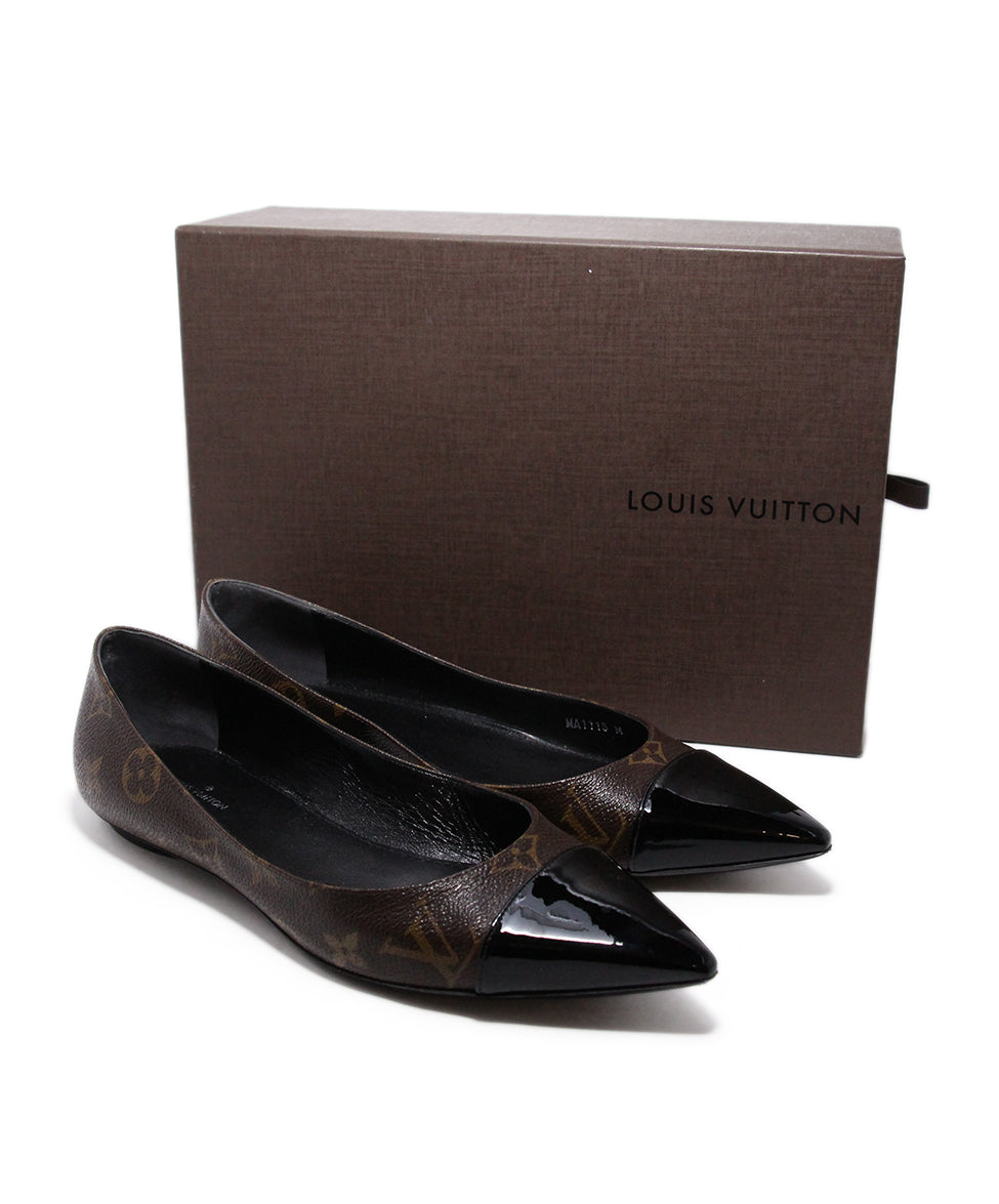 Louis Vuitton Monogram canvas Flats 8