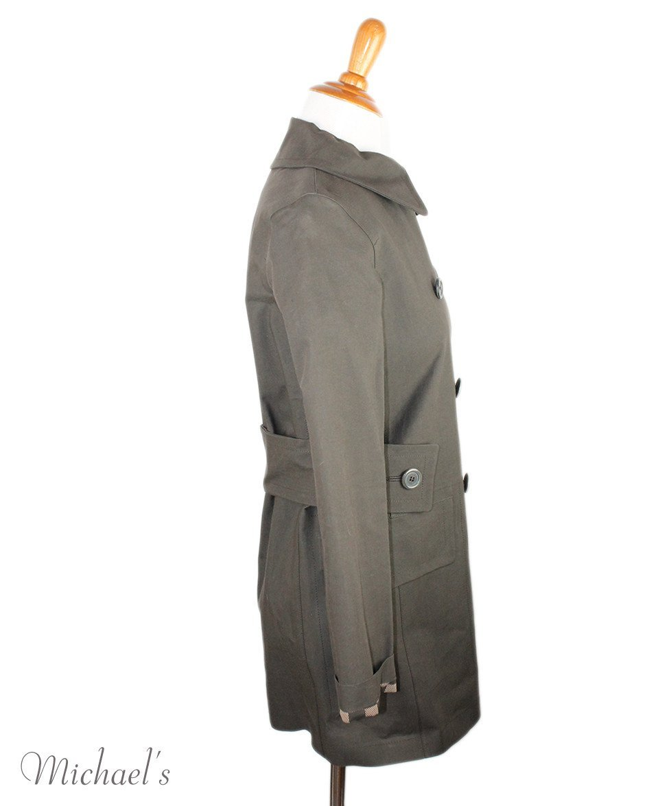 Louis Vuitton Green Olive Cotton Outerwear Sz 2 - Michael's Consignment NYC  - 2
