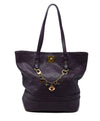 Louis Vuitton Purple Leather Handbag 1