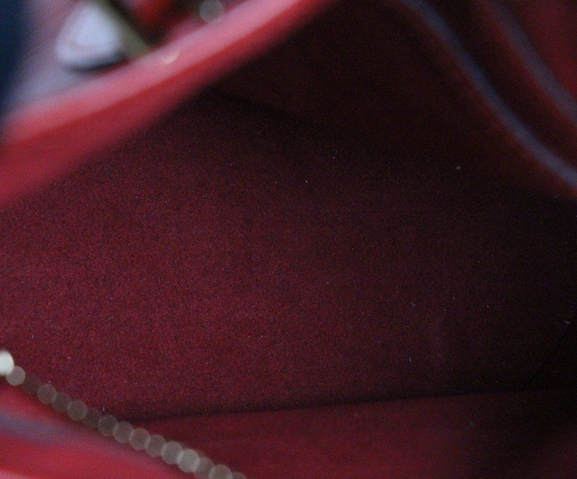Louis Vuitton Red Epi Leather Bucket Bag 6