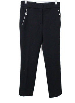 Louis Vuitton Black Wool Pants