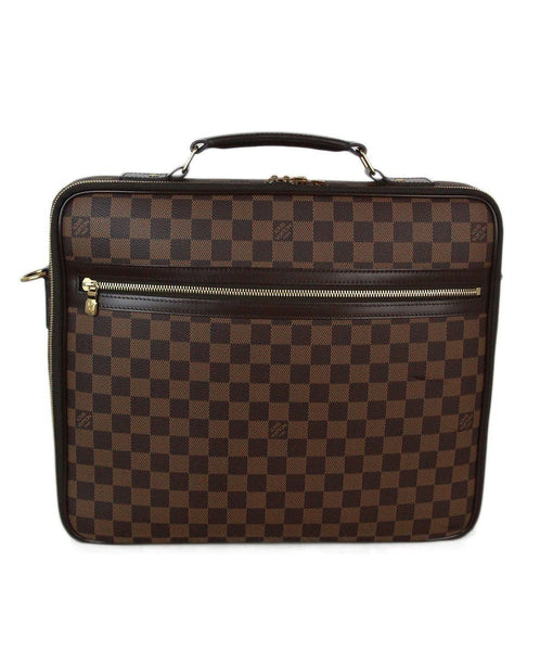 Louis Vuitton brown monogram briefcase 1