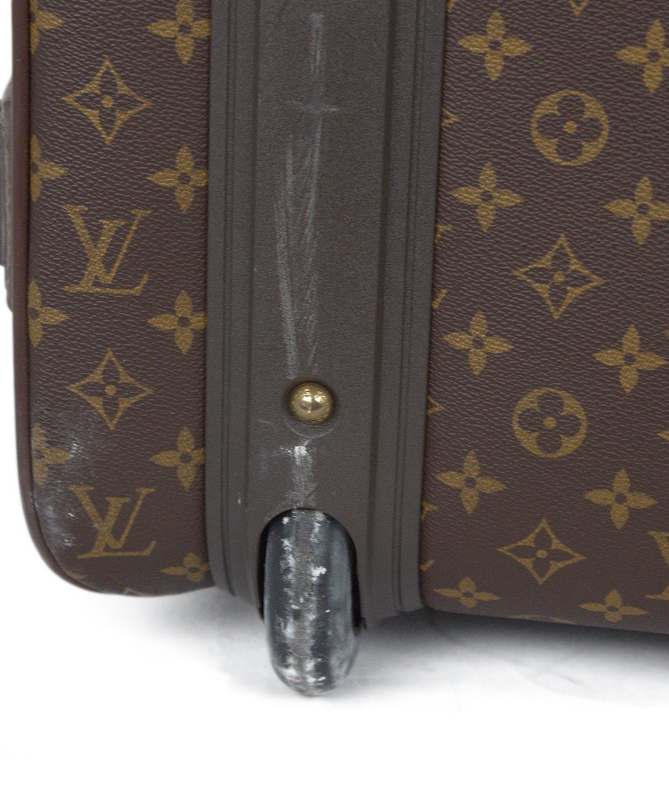 Louis Vuitton Brown Tan Monogram Canvas Travel Pegase Legere 55 Luggage 10