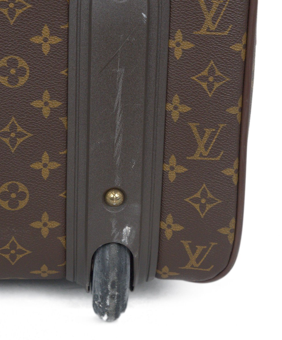 Louis Vuitton Brown Tan Monogram Canvas Travel Pegase Legere 55 Luggage 11