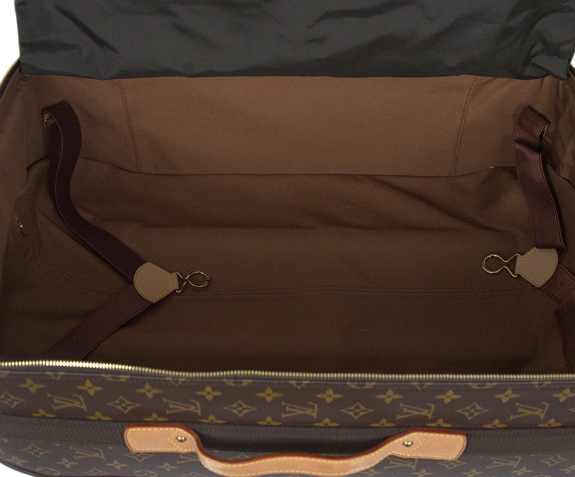 Louis Vuitton Brown Tan Monogram Canvas Travel Pegase Legere 55 Luggage 6