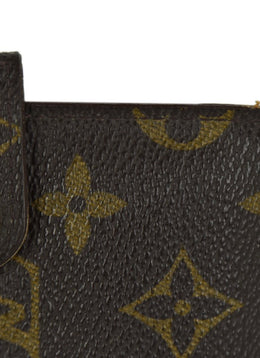 Louis Vuitton Brown Tan Monogram Leather Card Case | Louis Vuitton