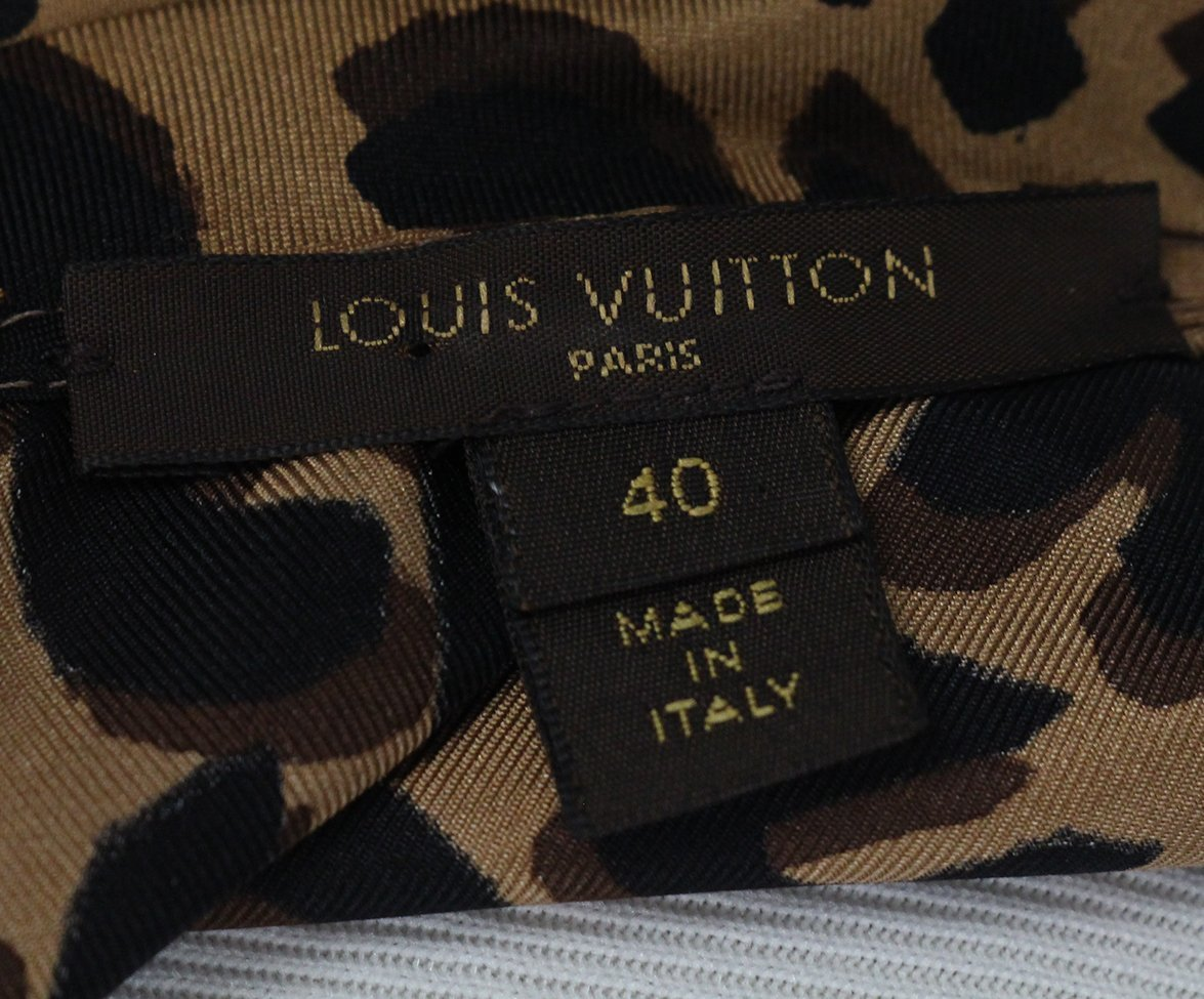Louis Vuitton leopard print top 4