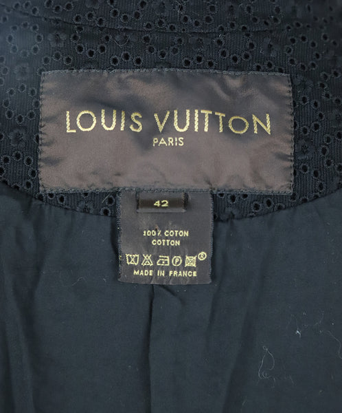 Louis Vuitton Black Cotton Eyelet Jacket 4