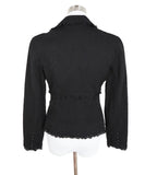 Louis Vuitton Black Cotton Eyelet Jacket 3