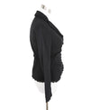 Louis Vuitton Black Cotton Eyelet Jacket 2