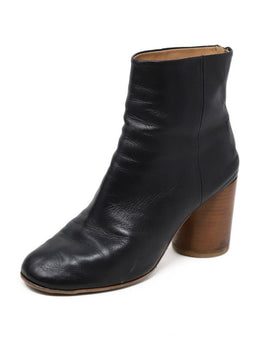 Martin Margiela Black Leather Boots
