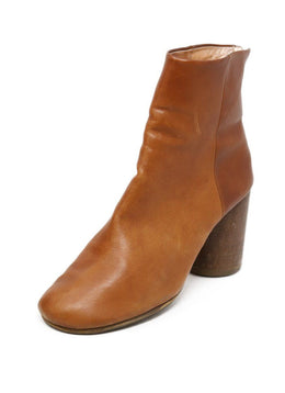 Martin Margiela Shoe Neutral Tan Leather Boots