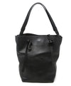 Maison Martin Margiela Line 11 Black Leather Tote Bag 1