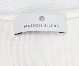 Maison Ullens Tan Cream Cashmere Reversible Sweater 8