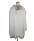 Maison Ullens Tan Cream Cashmere Reversible Sweater 4