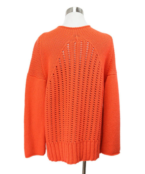 Malo Orange Cashmere Sweater 3