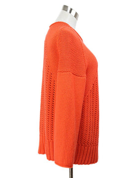 Malo Orange Cashmere Sweater 2