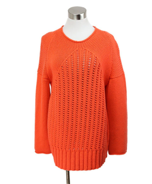 Malo Orange Cashmere Sweater 1