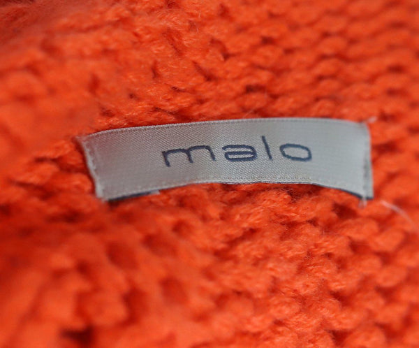 Malo Orange Cashmere Sweater 4