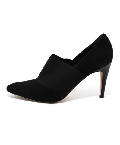 Manolo Blahnik Black suede shoes 1
