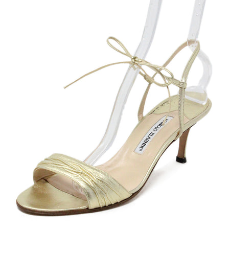 Aquazzura Nude Leather Lucite Heels sz. 39