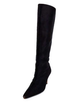 Manolo Blahnik Brown Calfhair Tall Boots 1