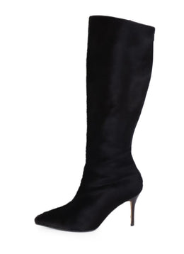 Manolo Blahnik Brown Calfhair Tall Boots 2