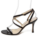 Manolo Blahnik Brown Skin Sandals 2