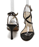Manolo Blahnik Brown Skin Sandals 3