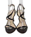 Manolo Blahnik Brown Skin Sandals 4