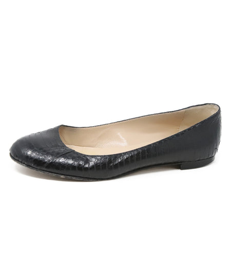 Prada Black Patent Leather Loafers with Buckle Detail US size 9.5