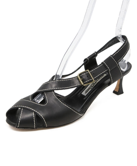 Schutz Metallic Silver Leather Stiletto Sandals US 7