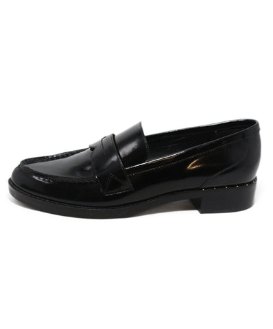 Marc Fisher black leather loafers 1