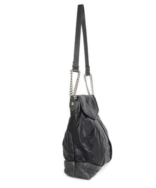 Marc Jacobs Black Leather Handbag 2