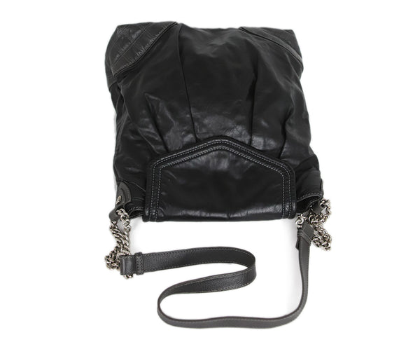 Marc Jacobs Black Leather Handbag 5