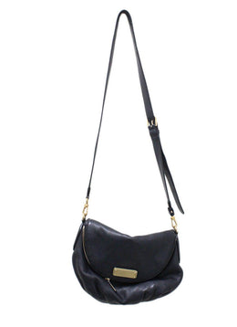 Marc Jacobs Black Leather Shoulderbag