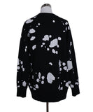 Marc Jacobs Black White Cotton Graphic Sweater 3