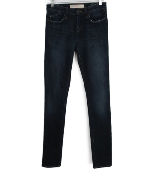 Marc Jacobs Blue Denim Cotton Pants 1
