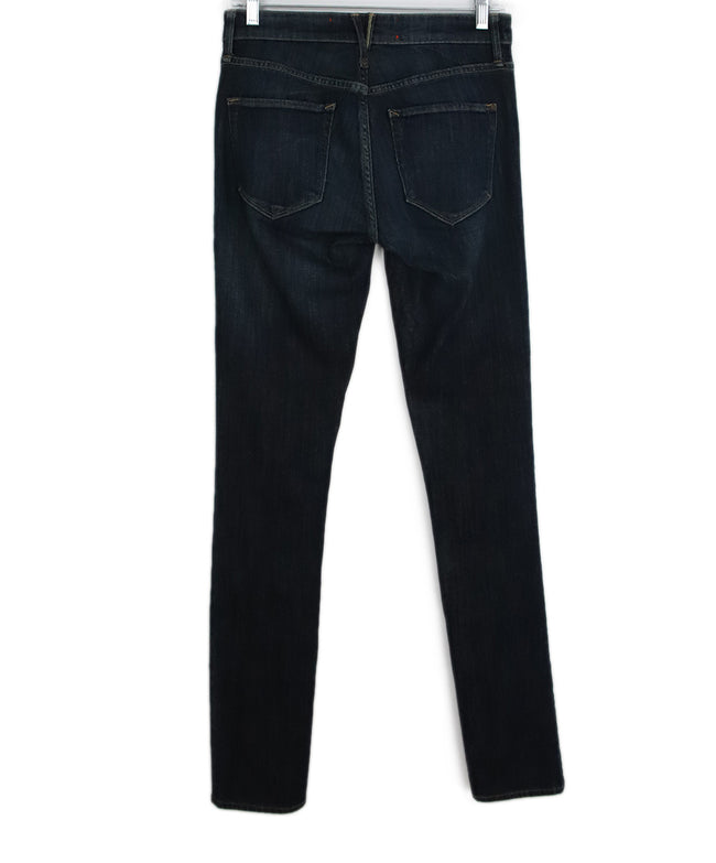 Marc Jacobs Blue Denim Cotton Pants 2